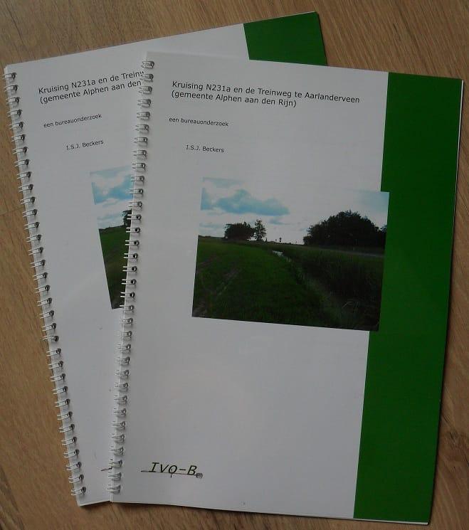 Archeologisch Advies bureauonderzoek-rapport